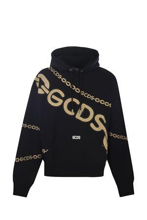 Felpa hoodie GCDS  Maxi chain GCDS | 10000005 | CC94M02151902