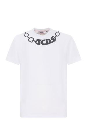 T-shirt GCDS chain basic tee in cotone GCDS | 8 | CC94M02152001