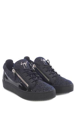 Sneakers Giuseppe Zanotti Kenin in pelle e vernice GIUSEPPE ZANOTTI | 5032245 | RU00092006