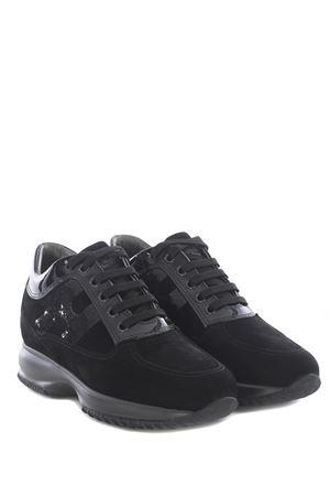 Sneakers Hogan Interactive in camoscio HOGAN | 5032245 | HXW00N0564025Q9999