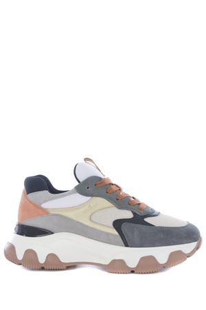 Sneakers Hogan Hyperactive in camoscio e pelle HOGAN | 5032245 | HXW5400DG60QBR0RXY