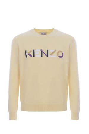 Maglioncino Kenzo logo in lana KENZO | 7 | FB65PU6393LA04