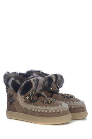 Stivaletti Mou Eskimo Sneaker Star Patch MOU | 5032245 | 111006AELGRY