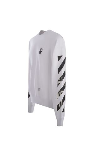 Felpa OFF-White Caravaggio Arrows OFF WHITE | 10000005 | OMBA054F21FLE0110110