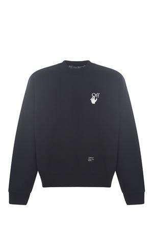 Felpa OFF-White  Caravaggio arrow skate OFF WHITE | 10000005 | OMBA054F21FLE0111001