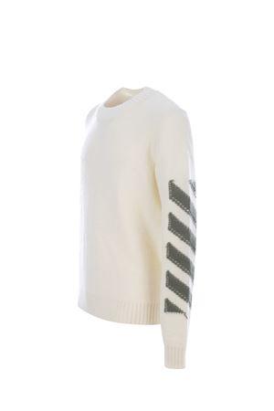 Maglione OFF-White Arrow diag OFF WHITE | 7 | OMHE088F21KNI0016155