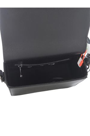 Borsa OFF-White diag mini flap in pelle OFF WHITE | 31 | OWNN019F21LEA0021001