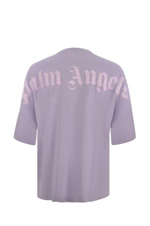 T-shirt Palm Angels Classic Logo over in cotone PALM ANGELS | 8 | PMAA002F21JER0033601