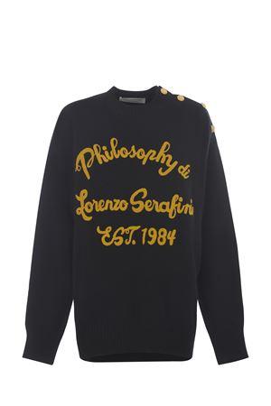 Felpa Philosophy di Lorenzo Serafini in cotone PHILOSOPHY | 10000005 | A09125703-555