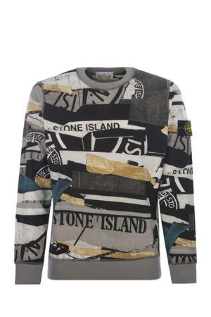 Felpa Stone Island Mixed Media all over STONE ISLAND | 10000005 | 63087V0023