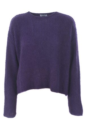Base Milano sweater in wool and cashmere blend BASE MILANO | 7 | B4889302-771