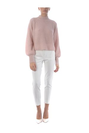 Base Milano cropped sweater in mohair and alpaca blend BASE MILANO | 7 | B4891302-773