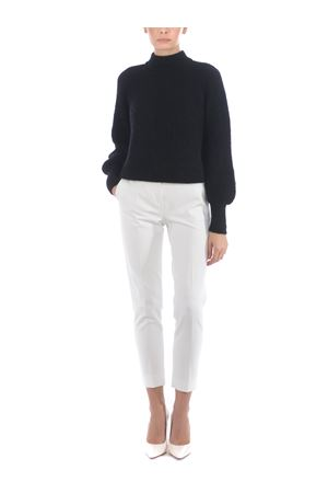 Base Milano cropped sweater in mohair and alpaca blend BASE MILANO | 7 | B4891302-778