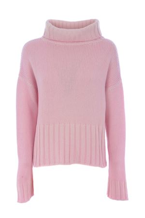 Base Milano cropped sweater in wool and cashmere blend BASE MILANO | 7 | B4935857-029