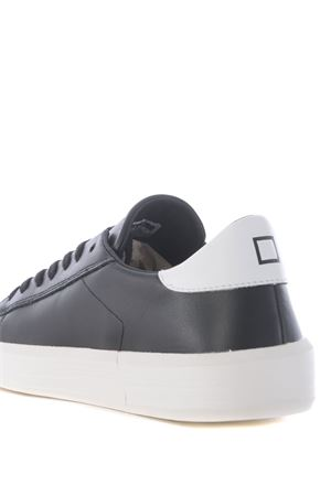Low sneaker D.A.T.E. Ace Mono in leather DATE | 5032245 | M331-AC-MOBK