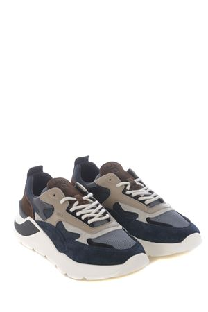 Running sneaker D.A.T.E. Fuga Dandy  in mesh DATE | 5032245 | M331-FG-DYBL