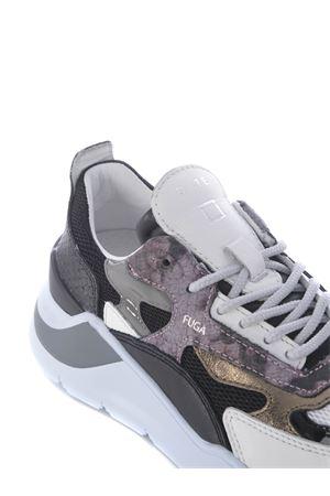 Running sneaker D.A.T.E. Fuga python black DATE | 5032245 | W331-FG-PHBK