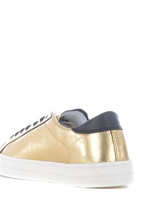 Low sneaker D.A.T.E. Hill Low Animalier in laminated leather DATE | 5032245 | W331-HL-ANGO