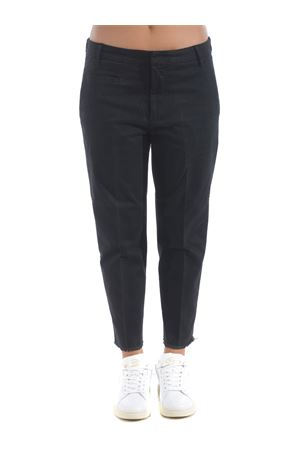 Dondup Ariel trousers in stretch gabardine DONDUP | 9 | DP475GSE043PTD-999