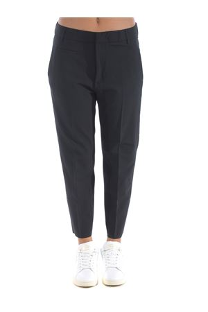 Dondup Ariel trousers in stretch wool canvas DONDUP | 9 | DP475TS0009XXX-999