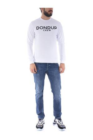 Dondup sweatshirt in stretch cotton DONDUP | 10000005 | UF617KF0136ZK7-000
