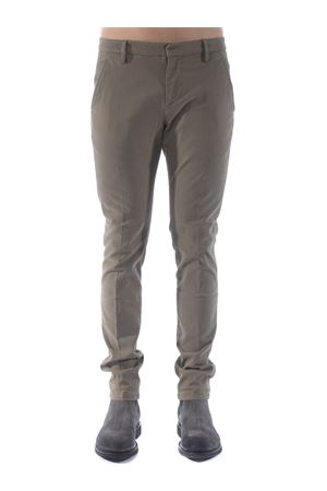 Dondup gaubert trousers in stretch cotton gabardine DONDUP | 9 | UP235GSE043PTD-636