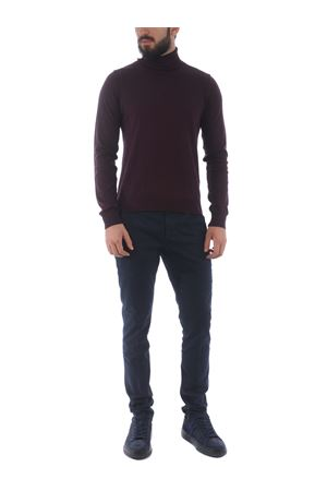 Pantaloni Dondup gaubert in gabardina di cotone stretch DONDUP | 9 | UP235GSE043PTD-890