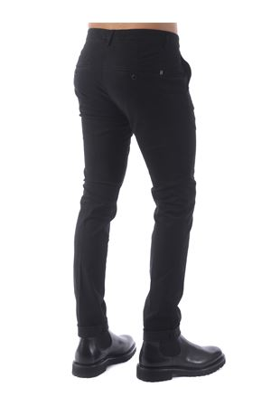 Pantaloni Dondup gaubert in gabardina di cotone stretch DONDUP | 9 | UP235GSE043PTD-999