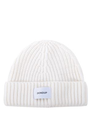 Dondup hat in ribbed wool blend DONDUP | 26 | UQ065Y00474XXX-001