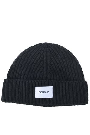 Dondup hat in ribbed wool blend DONDUP | 26 | UQ065Y00474XXX-999