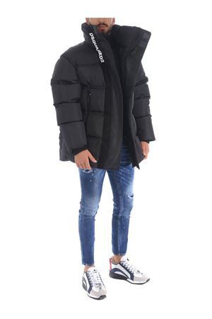 Dsquared2 oversized down jacket in nylon DSQUARED | 783955909 | S71AN0219S53352-900