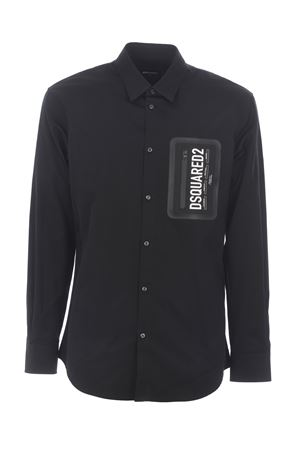 Dsquared2 shirt in cotton poplin. DSQUARED | 6 | S71DM0411S36275-900