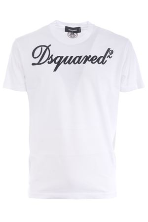 Dsquared2 T-shirt in cotton. DSQUARED | 8 | S71GD0992S22427-100
