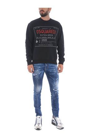 Dsquared2 sweatshirt in cotton. DSQUARED | 10000005 | S71GU0402S25030-900