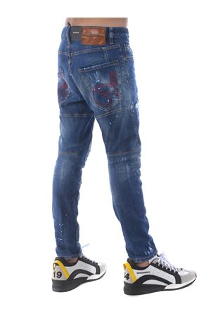 Dsquared2 jeans in stone wash stretch denim. DSQUARED | 24 | S71LB0772S30342-470