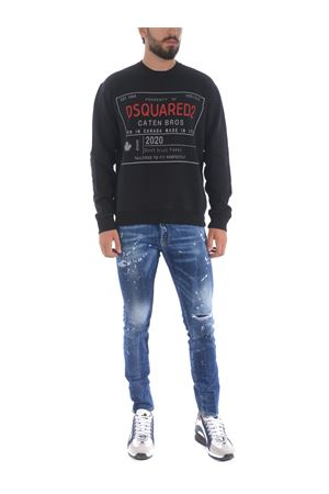 Dsquared2 jeans in stone wash stretch denim.  DSQUARED | 24 | S71LB0773S30342-470
