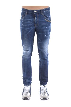 Dsquared2 jeans in stone wash stretch denim. DSQUARED | 24 | S71LB0780S30664-470