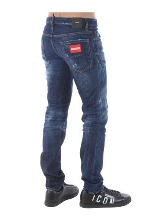 Dsquared2 slim jean jeans in stretch denim DSQUARED | 24 | S71LB0781S30664-470