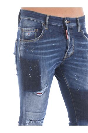 Dsquared2 skater jeans in stretch denim