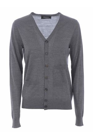 Dsquared2 cardigan in  wool yarn.  DSQUARED | 850887746 | S72HA1027S16794-859M