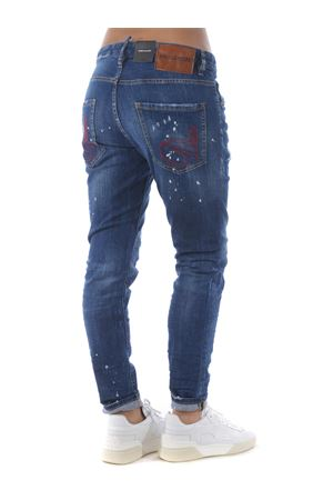 Dsquared2 skinny dan jeans in stretch denim DSQUARED | 24 | S72LB0352S30342-470