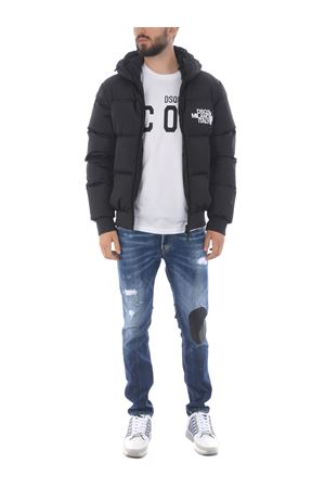 Dsquared2 nylon down jacket