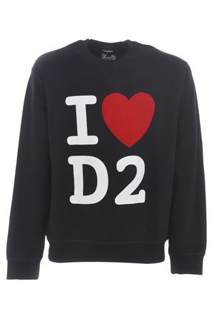 Dsquared2 sweatshirt in cotton