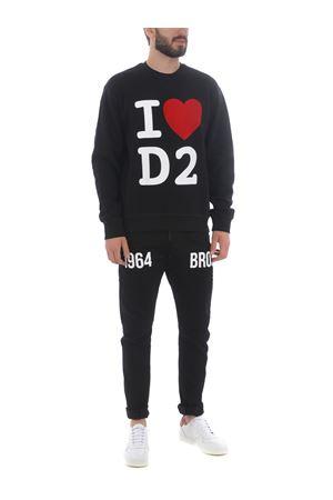 Dsquared2 sweatshirt in cotton