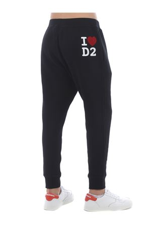 Dsquared2 jogging trousers in fleece cotton. DSQUARED | 9 | S74KB0475S25475-900