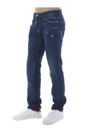 Dsquared2 slim jean jeans in stretch denim DSQUARED | 24 | S74LB0761S30342-470
