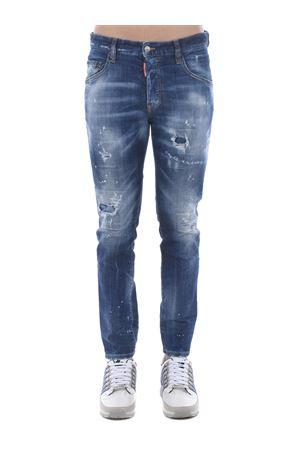 Dsquared2 skater jean jeans in stretch denim DSQUARED | 24 | S74LB0764S30342-470