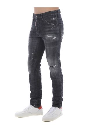 Dsquared2 cool guy jean jeans in stretch denim DSQUARED | 24 | S74LB0797S30357-900