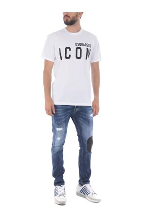 Dsquared2 skater jean jeans in super stretch denim DSQUARED | 24 | S74LB0805S30708-470