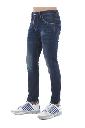 Dsquared2 sexy twist jean jeans in stretch denim DSQUARED | 24 | S74LB0821S30664-470